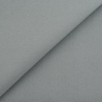 Fijne polyester canvas Zilvergrijs