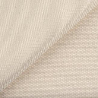 Fijne polyester canvas Ivoor