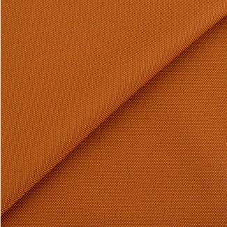 Fine polyester canvas Burned orange