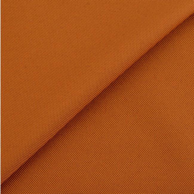 Fijne polyester canvas Burned orange