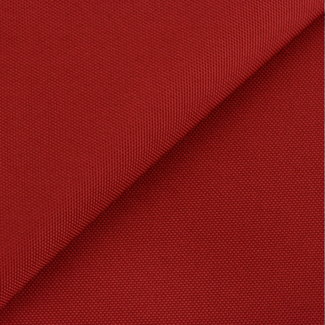 Fijne polyester canvas Rood