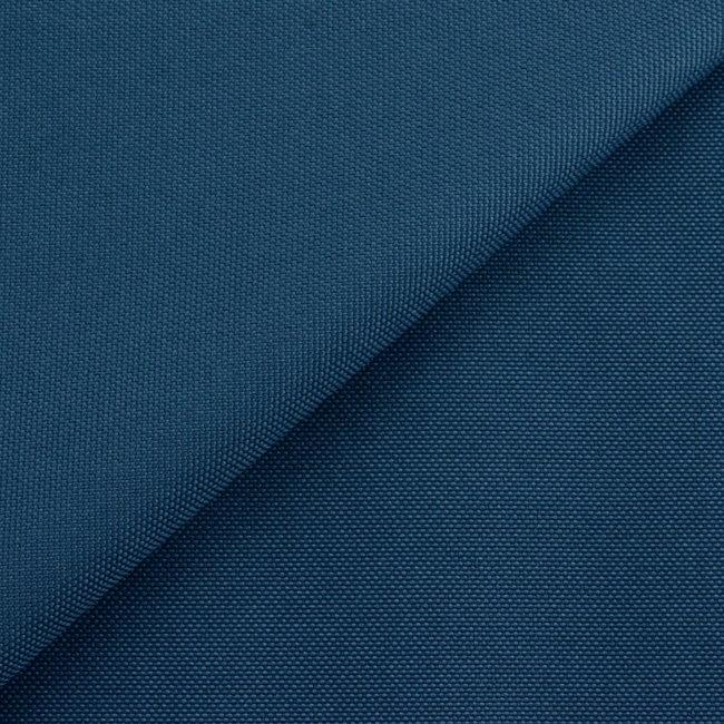 Fijne polyester canvas Jeansblauw