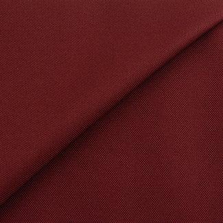 Fijne polyester canvas Wijnrood