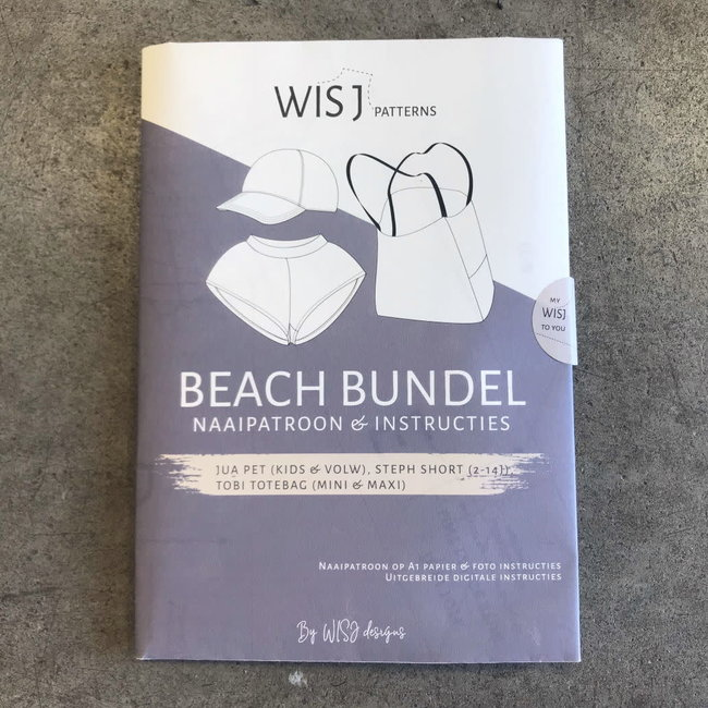 Wisj Beach Bundle Sewing Pattern (in Dutch)