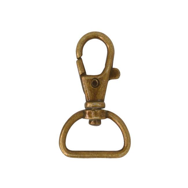 Zipper zoo Musketon Basis Brons