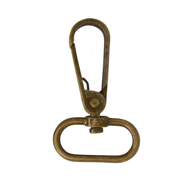 Zipper zoo Flat swivel hook Anti-brass