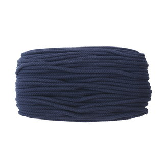 Cotton cord Dark blue
