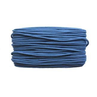 Cotton cord Jeans blue 5mm