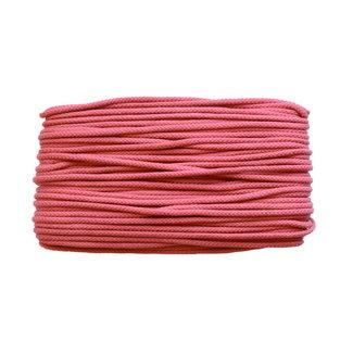 Cotton cord Raspberry 5mm