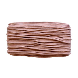 Cotton cord Salmon brown