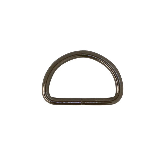 K-Bas D-ring Black nickel