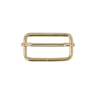 Zipper zoo Adjustable slider Light gold