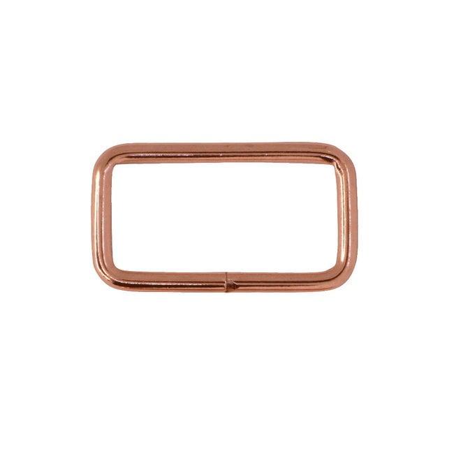 K-Bas Rectangular ring Basic Rose gold