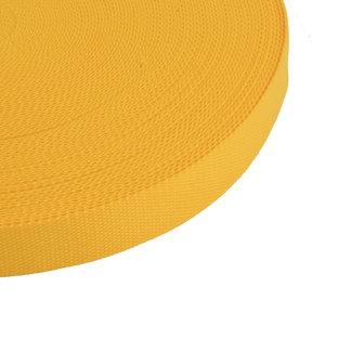 Tassenband Uni Warmgeel