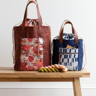 Noodlehead Firefly Tote Patroon