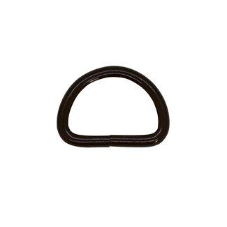 K-Bas D-ring Basis Mat zwart