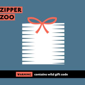 Zipper zoo Gift Voucher