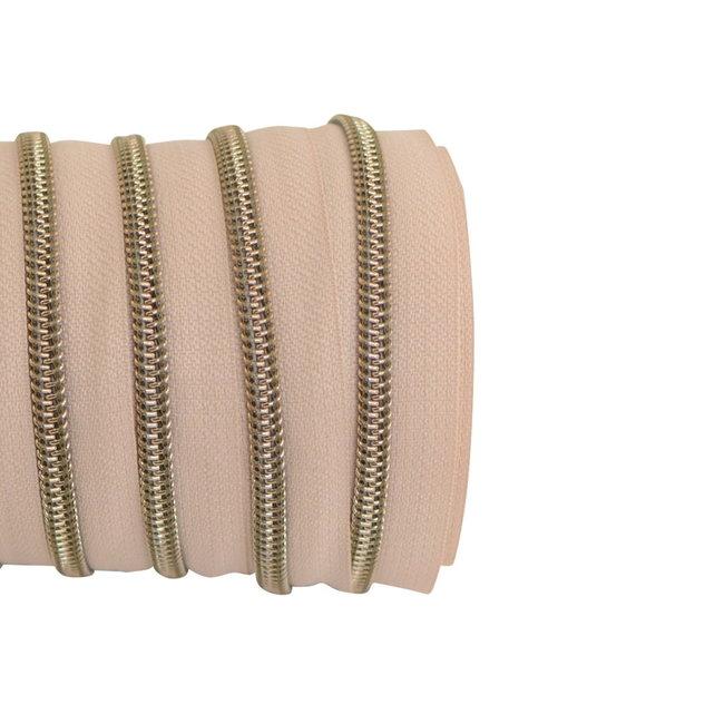 SO Ritstape Spiraal Latte - Shiny Brons