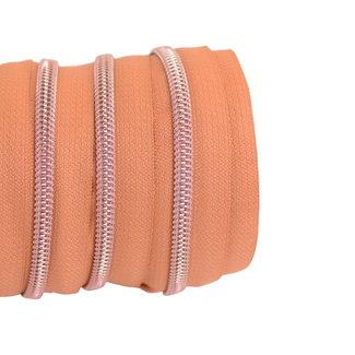 SO Zipper tape Coil Copper - Rose gold