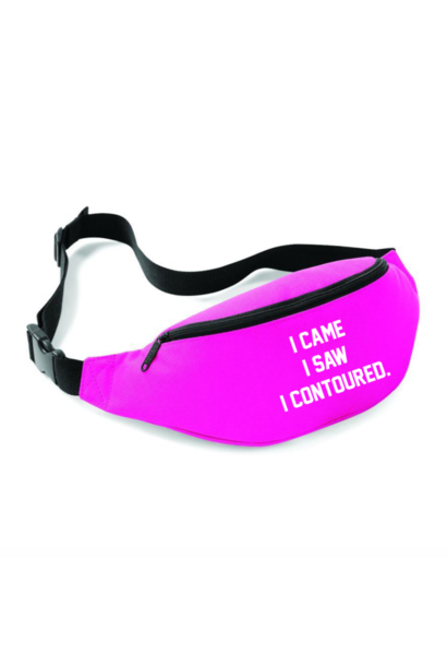 CONTOURED FANNYPACK - NEON PINK