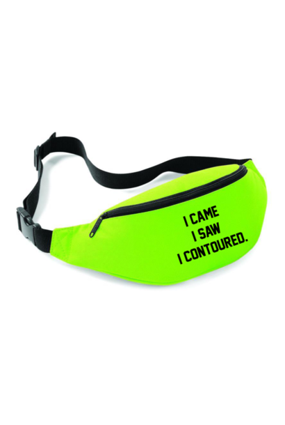 CONTOURED FANNYPACK - NEON GREEN