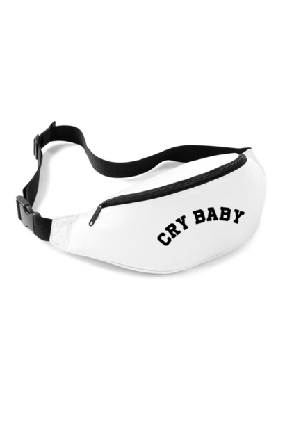 CRY BABY FANNYPACK - WIT