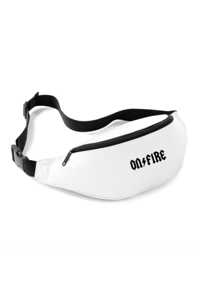 ON FIRE FANNYPACK - WIT