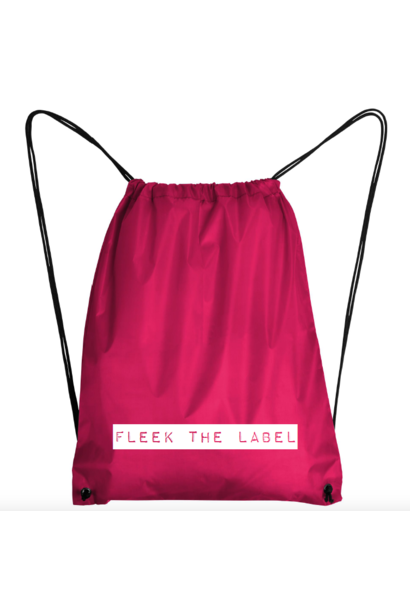 FLEEK LABEL BAG - PINK