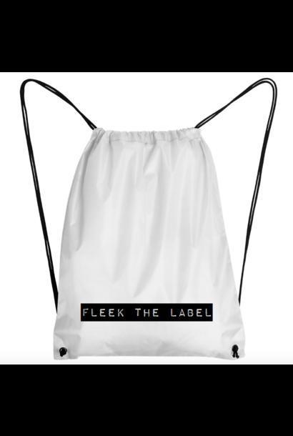 FLEEK LABEL BAG - WHITE