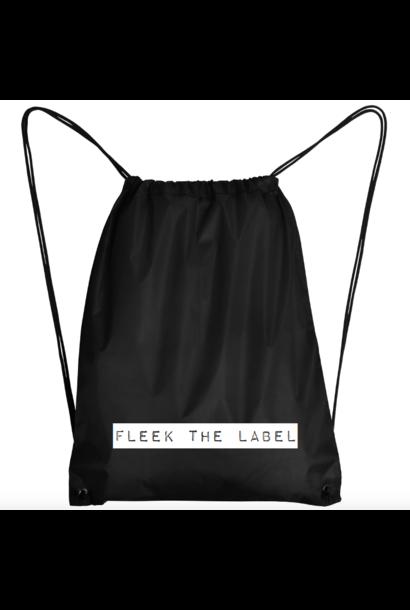 FLEEK LABEL BAG - BLACK