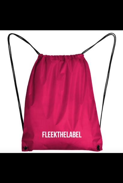 FLEEKTHELABEL GYMBAG - PINK