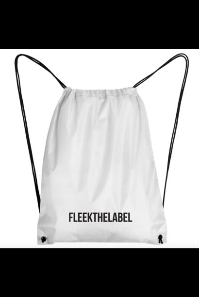 FLEEKTHELABEL GYMBAG - WHITE