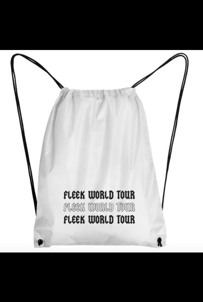FLEEK WORLD TOUR GYMBAG - WHITE