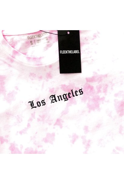 LOS ANGELES - TIE DYE PINK