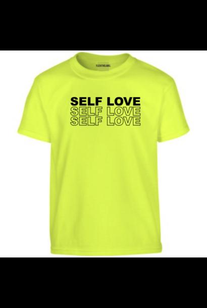 SELF LOVE  T-SHIRT - NEON