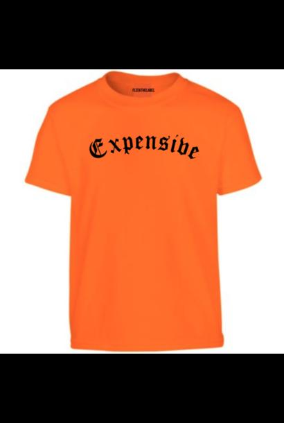 EXPENSIVE T-SHIRT - NEON ORANGE