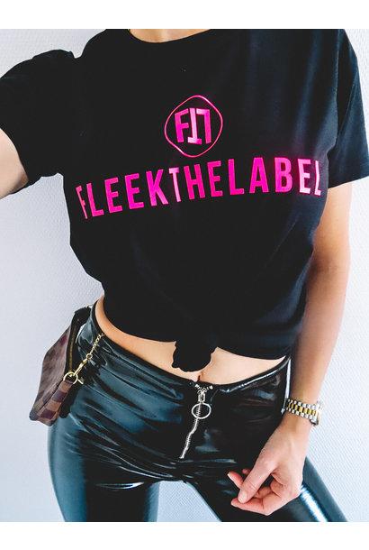 FLEEKTHELABEL INSPO TEE - NEON PINK