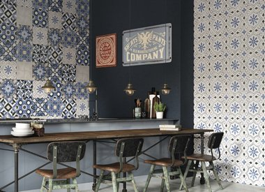 Cement tile 'look alike'