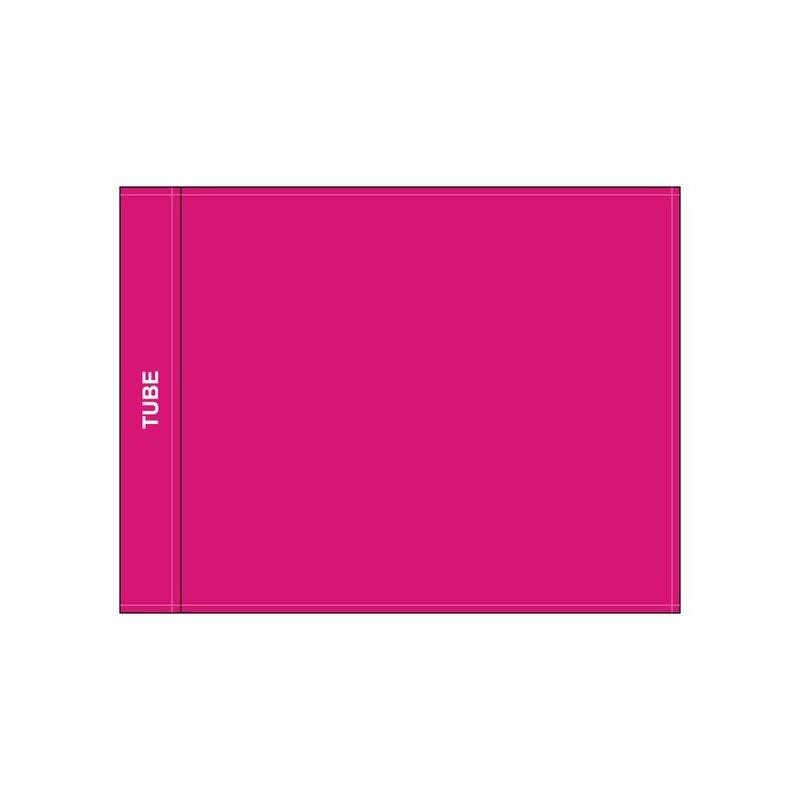 Golffahne, uni, pink