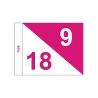 GolfFlags GF  semaphore, numbered