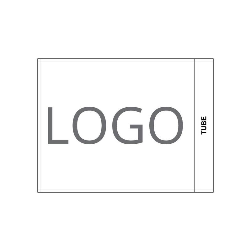 GolfFlags Golfvlag, bedrukt logo