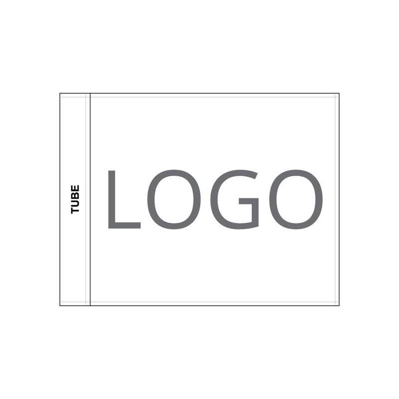 GolfFlags Golfvlag, geborduurd logo