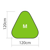 GolfFlags Pop-up Banner Triangle M