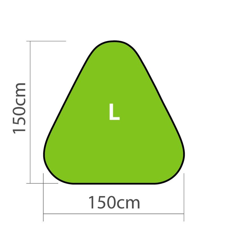 GolfFlags Pop-up Banner Triangle L