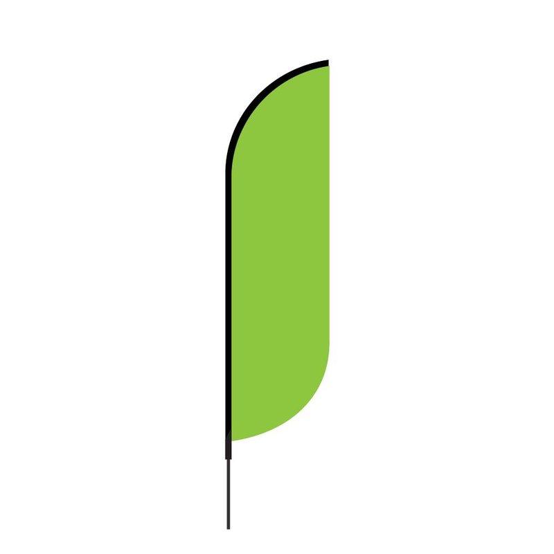 Beach flag Convex
