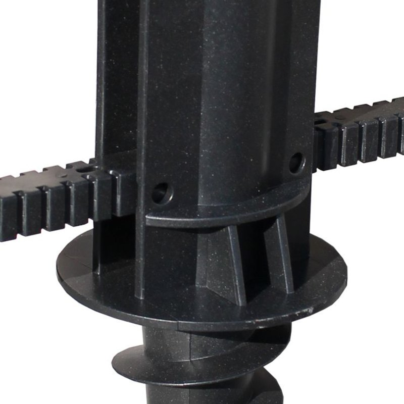Synthetic drill stake