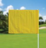 GolfFlags Golfvlag, effen, geel