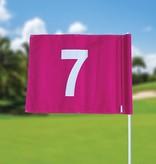 Golffahnen, nummeriert