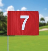 GolfFlags Golf flag, numbered