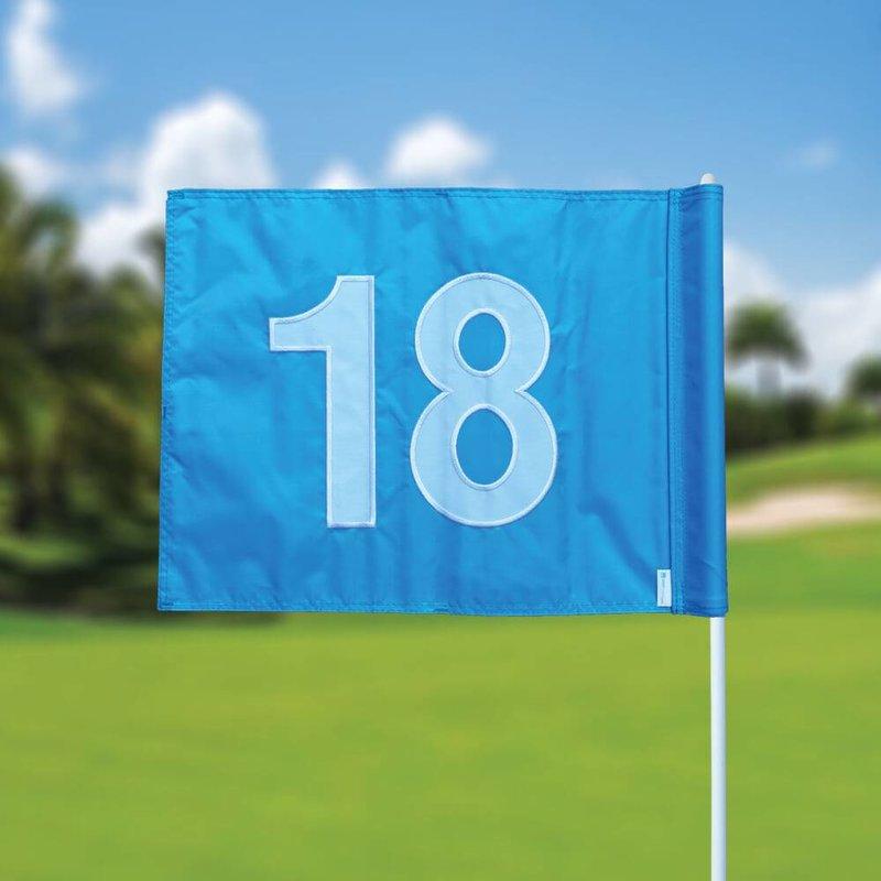GolfFlags Golfvlag, genummerd